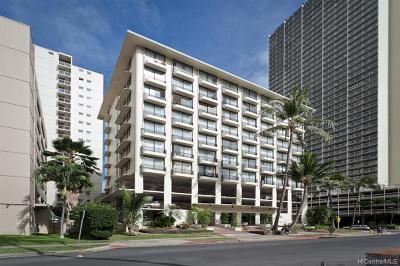 Honolulu Condo/Townhouse For Sale: 440 Seaside Avenue #904