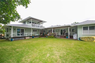 Kailua Single Family Home For Sale: 156 Ohana Street