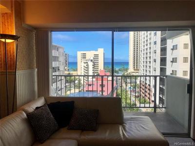 Honolulu Condo/Townhouse For Sale: 2440 Kuhio Avenue #908