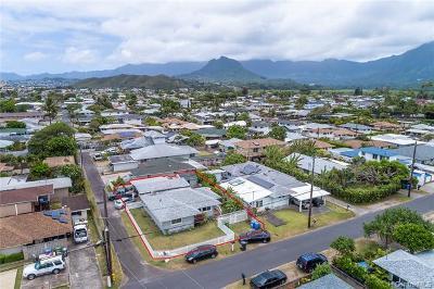 Kailua Single Family Home In Escrow Showing: 433 Olomana Street