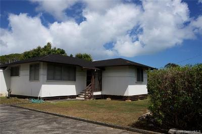Single Family Home For Sale: 45-714 Pua Alowalo Street