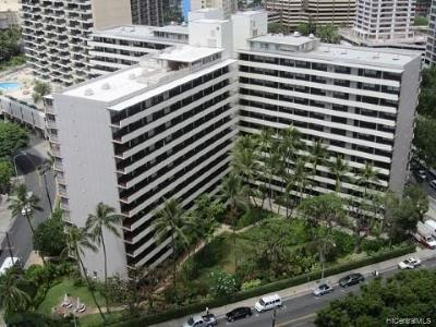 Honolulu County Condo/Townhouse For Sale: 425 Ena Road #904C