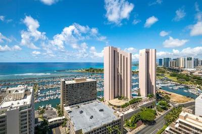 Honolulu Condo/Townhouse For Sale: 1778 Ala Moana Boulevard #3304