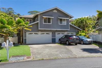 Mililani Condo/Townhouse For Sale: 95-1300 Wikao Street #26