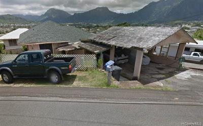 Kaneohe Single Family Home For Sale: 45-192 Lilipuna Road