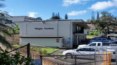 Condo/Townhouse For Sale: 95-024 Waihau Street #16A