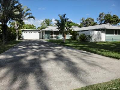 Kailua Single Family Home For Sale: 186 Kailua Road