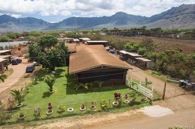 Waianae Single Family Home For Sale: 87-1042 Apuupuu Road