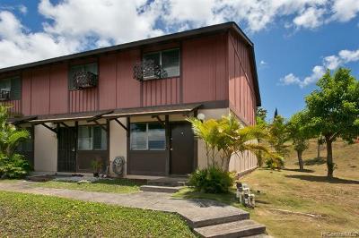 Mililani Condo/Townhouse For Sale: 94-1466 Lanikuhana Avenue #378