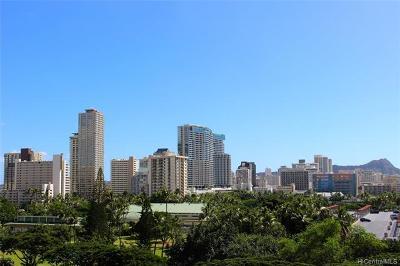 Honolulu Condo/Townhouse For Sale: 1860 Ala Moana Boulevard #804