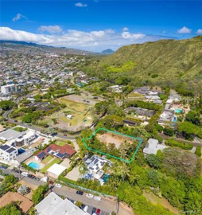 Honolulu County Residential Lots & Land For Sale: 3671 Diamond Head Circle