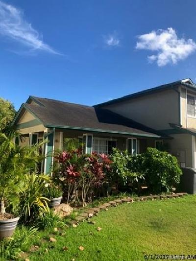 Ewa Beach Single Family Home For Sale: 91-1015 Kauoha Street