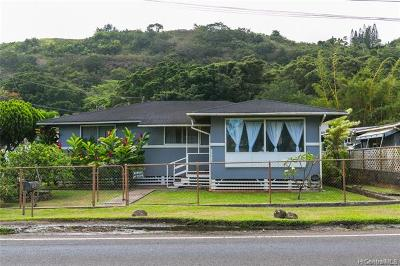 Honolulu County Single Family Home For Sale: 59-610 Kamehameha Highway