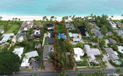 Kailua HI Single Family Home For Sale: $6,900,000