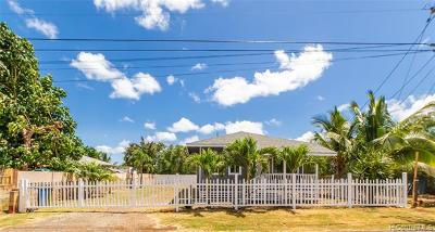 Single Family Home For Sale: 67-145 Kuhi Street