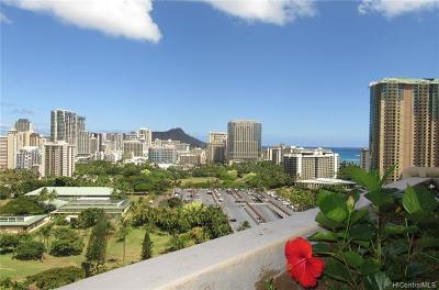 Honolulu County Condo/Townhouse For Sale: 1860 Ala Moana Boulevard #PH2003