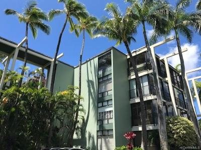 Condo/Townhouse For Sale: 4999 Kahala Avenue #209