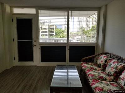 Central Oahu, Diamond Head, Ewa Plain, Hawaii Kai, Honolulu County, Kailua, Kaneohe, Leeward Coast, Makakilo, Metro Oahu, North Shore, Pearl City, Waipahu Rental For Rent: 1720 Ala Moana Boulevard #B408