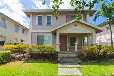 Honolulu County Single Family Home For Sale: 91-1009 Kailoa Street