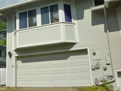 Honolulu Single Family Home For Sale: 960 Prospect Street #9