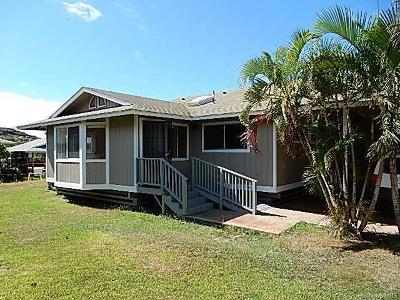 Waianae Single Family Home For Sale: 85-1051 Hookuikahi Street