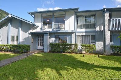 Condo/Townhouse For Sale: 1070 Awawamalu Street #B