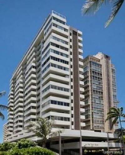 Condo/Townhouse For Sale: 2421 Ala Wai Boulevard #PH3