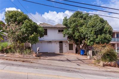 Single Family Home For Sale: 3836 Kilauea Avenue