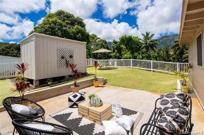 Kaneohe Single Family Home For Sale: 45-240 Pahikaua Place