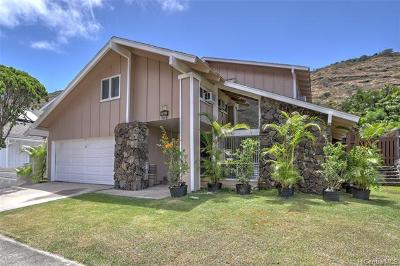 Single Family Home For Sale: 1037 Lunalilo Home Road
