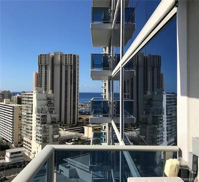 Honolulu County Condo/Townhouse For Sale: 1631 Kapiolani Boulevard #2006