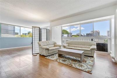 Condo/Townhouse For Sale: 1710 Punahou Street #302