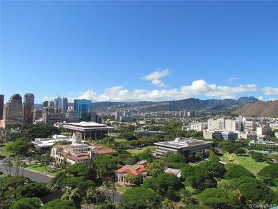 Honolulu Condo/Townhouse For Sale: 801 South Street #2606