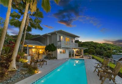 Kaneohe HI Single Family Home For Sale: $1,595,000