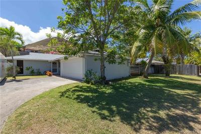 Kailua Single Family Home For Sale: 415 Ilimano Street