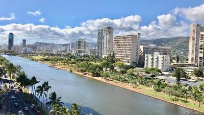 Honolulu Condo/Townhouse For Sale: 2211 Ala Wai Boulevard #1414