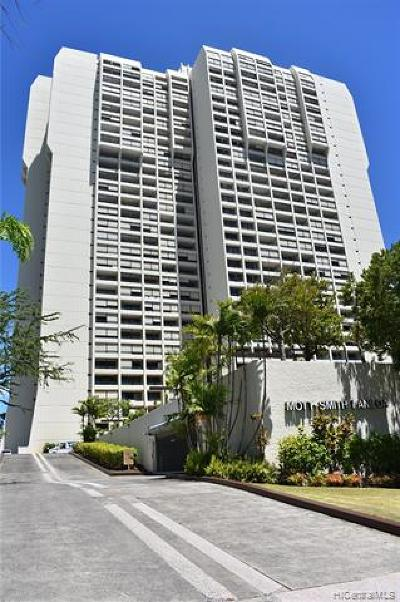 Honolulu Condo/Townhouse For Sale: 1717 Mott Smith Drive #808