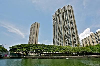 Honolulu Condo/Townhouse For Sale: 1600 Ala Moana Boulevard #2106