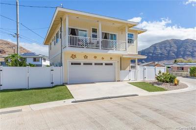 Waianae Single Family Home For Sale: 87-1720 Farrington Highway #10