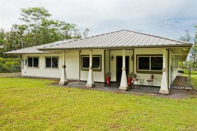 Hawaii County Single Family Home In Escrow Showing: 15-1827 25th Avenue