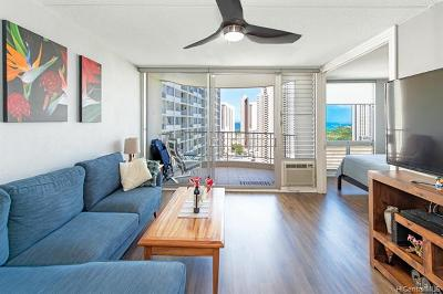 Honolulu Condo/Townhouse For Sale: 1717 Ala Wai Boulevard #2410