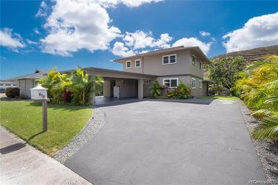 Honolulu Single Family Home For Sale: 878 Lunalilo Home Road