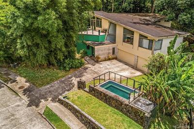Honolulu Single Family Home For Sale: 3387 Kamaaina Drive