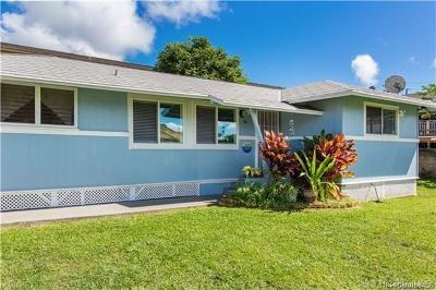 Wahiawa HI Single Family Home For Sale: $1,600,000