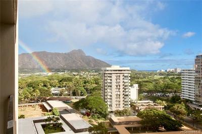 Honolulu HI Condo/Townhouse For Sale: $579,000