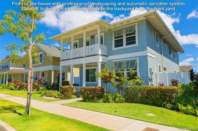 Ewa Beach Single Family Home For Sale: 91-1400 Halili Street