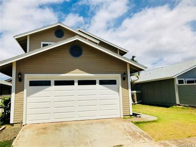 Ewa Beach Single Family Home For Sale: 91-166 Waimapuna Place