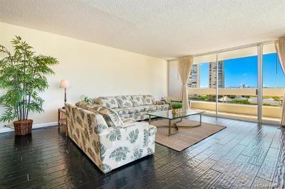 Honolulu Condo/Townhouse For Sale: 555 University Avenue #900