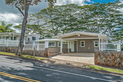 Pearl City Single Family Home For Sale: 2425 Aumakua Street