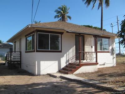 Waianae Single Family Home For Sale: 87-113 Hila Street